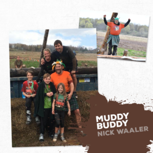 Muddy Buddy Nick Waaler